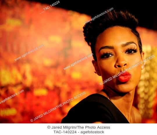 Jazmyn Simon attends HBO's 2015 Emmy After Party at the Pacific Design Center on September 20th, 2015 in Los Angeles, California