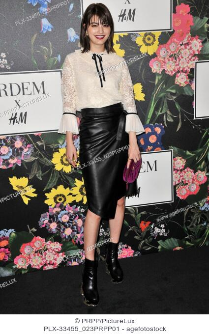 Maggy Moon at the ERDEM x H&M Runway Show and Party held at The Ebell of Los Angeles in Los Angeles, CA on Wednesday, October 18, 2017