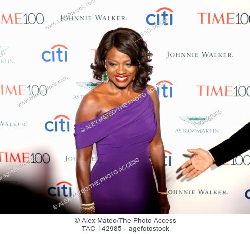 Viola Davis attends the 2017 Time 100 Gala at Jazz at Lincoln Center on April 25, 2017 in New York City