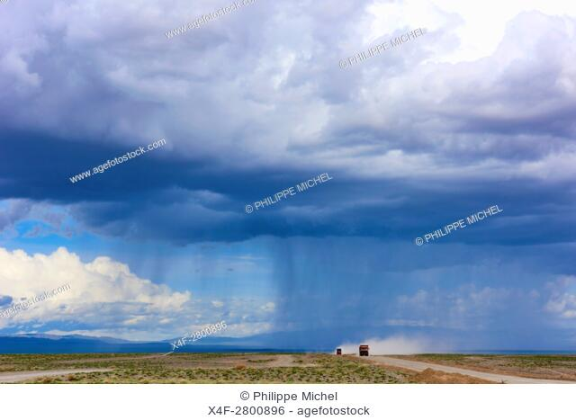 Mongolia, Gobi-Altay province, western Mongolia, landscape in the steppe