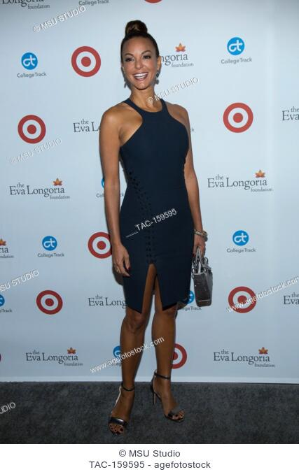 Eva LaRue attends the 6th Annual Eva Longoria Foundation Dinner at Four Seasons Hotel Los Angeles at Beverly Hills on October 12, 2017 in Los Angeles