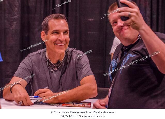Todd McFarlane interacts with fans on June 24th 2017 at the Amazing Las Vegas Comic Con at the Las Vegas Convention Center in Las Vegas, NV