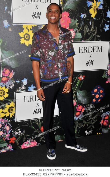 Cordell Broadus at the ERDEM x H&M Runway Show and Party held at The Ebell of Los Angeles in Los Angeles, CA on Wednesday, October 18, 2017