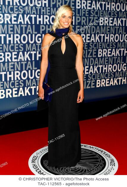 MOUNTAIN VIEW, CA - NOV 8: Lucy Page attends the Breakthrough Prize Ceremony at NASA AMES Research Center on November 8, 2015 in Mountain View, California
