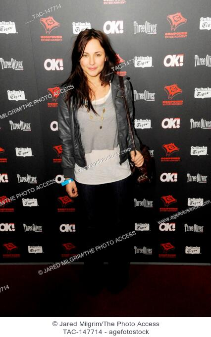 Briana Evigan arrives to the 3rd Annual Midnight Grammy Brunch held at the W Hotel in Hollywood