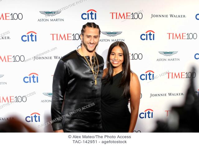 Colin Kaepernick attends the 2017 Time 100 Gala at Jazz at Lincoln Center on April 25, 2017 in New York City