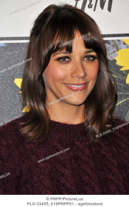 Rashida Jones at the ERDEM x H&M Runway Show and Party held at The Ebell of Los Angeles in Los Angeles, CA on Wednesday, October 18, 2017
