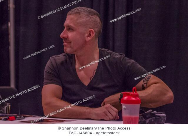 Ray Park interacts with fans on June 24th 2017 at the Amazing Las Vegas Comic Con at the Las Vegas Convention Center in Las Vegas, NV